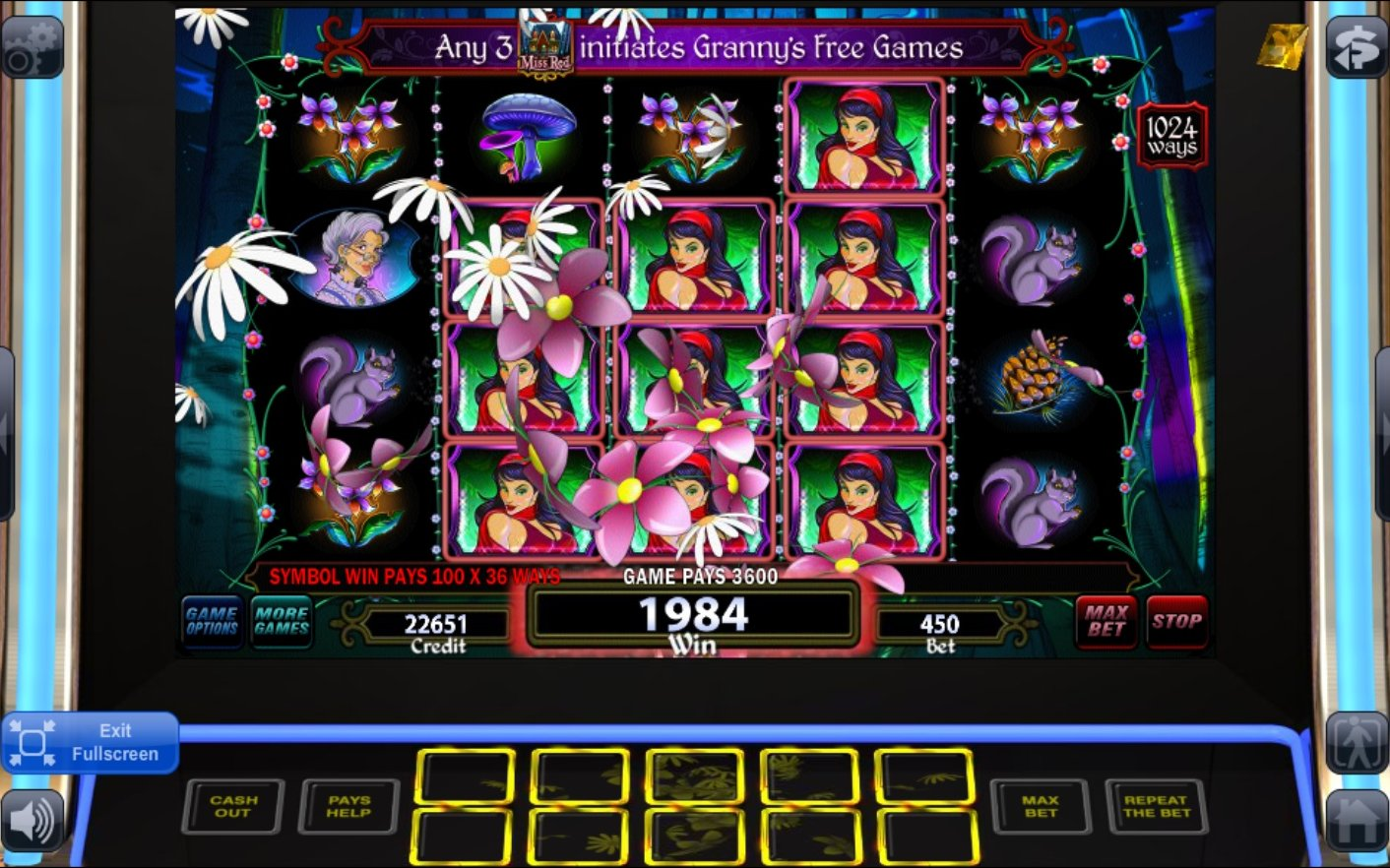 free casino games wolf run