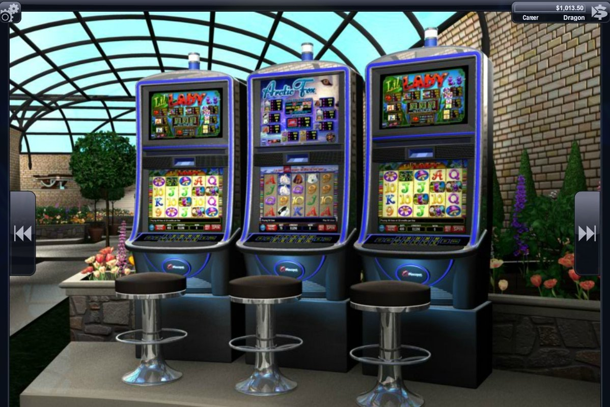 slot machine poker