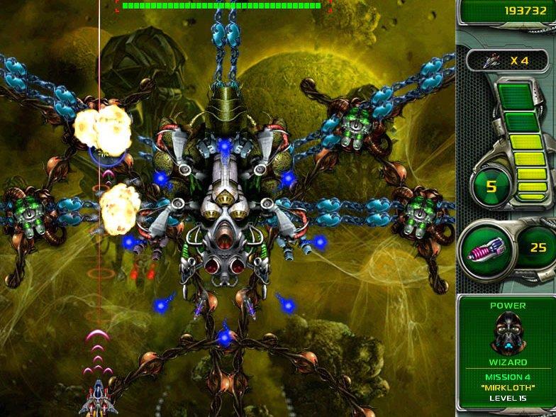 Выйграй захватывающую космическую битву в игре Звездный Защитник 4. Скачайт